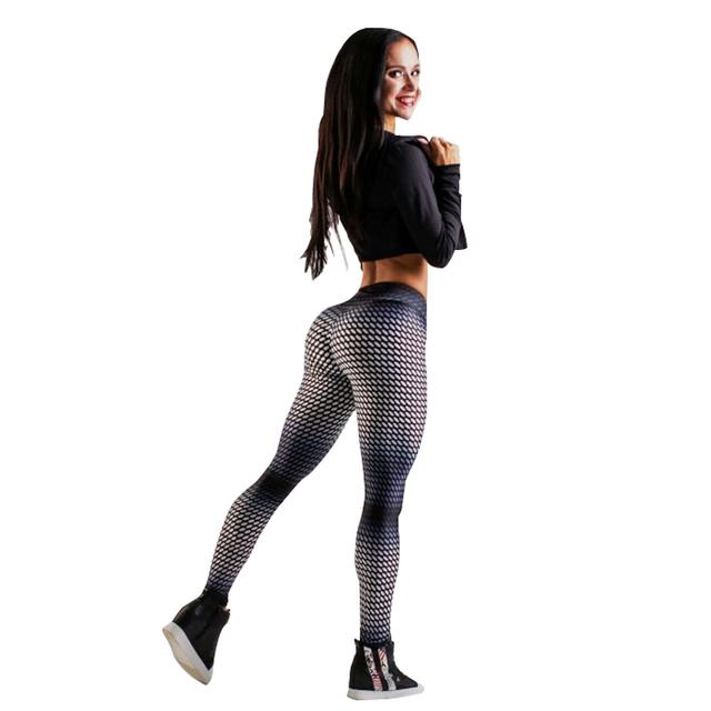 Gradient Color Women Fitness Leggings