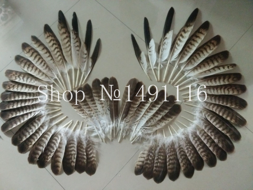 100 pc quality natural eagle feathers 6 13inches 15 34cm long DIY jewelry decoration