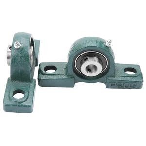 Image 5 - 2Pcs/Set OD 47mm ID 20mm UCP204 Ball Mounted Bearings Pillow Block Housing Bore Ball Bearing Shaft Support Spherical Roller Hot