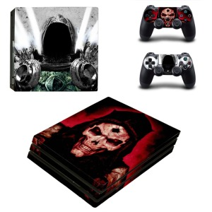 Image 2 - Game Bloodborne Dark Souls PS4 Pro Skin Sticker Decal Vinyl for Playstation 4 Console and 2 Controllers PS4 Pro Skin Sticker