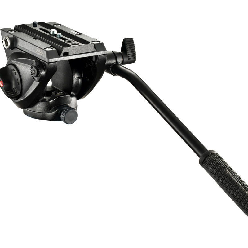 Manfrotto MVH500AH Digital Camera Photography Head Time Lapse Ball Head Fluid Head Hydraulic 360 Degree Panoramic Tripod Head head