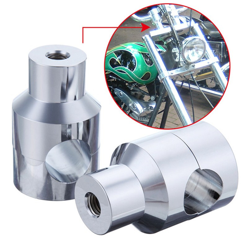 CNC Motorcycle 1 25mm Handlebar Riser For Harley Honda Shadow VLX 600 ACE 750 VTX 1300