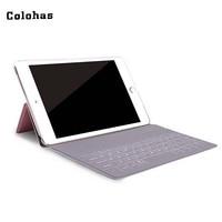 Wireless Bluetooth 3 0 Mini Keyboard Rechargeable Keypad PU Leather Case For IPad Mini 7 9