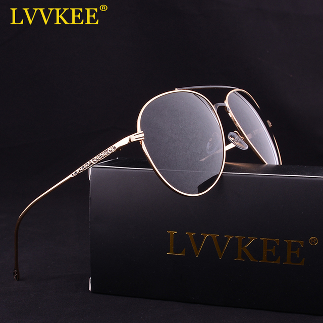 acb35cdd548a Aliexpress.com   Buy LVVKEE brand 2017 High Quality HD Polarized Sunglasses  Men s Womens Mirror Pilot Driving Sun Glasses 62mm large size from Reliable  ...