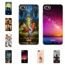 For Xiaomi Redmi 6A Cover Ultra-slim Soft TPU Silicone 6 A Case Tower Patterned 6a Coque Bumper