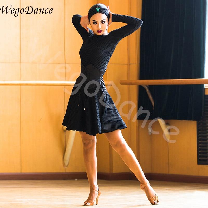 professional 2018 New Latin Dance Dress Women Samba Costume Lady Competition Performance Wear Dresses