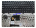 Клавиатура для ноутбука HP 8460P 8460W 6460B 6460 8470 8470B 8470P 8470 6470 US с серебристой рамкой