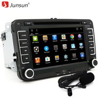Junsun 7 2 Din Car DVD GPS Radio Player Android 6 0 1024 600 Bluetooth For