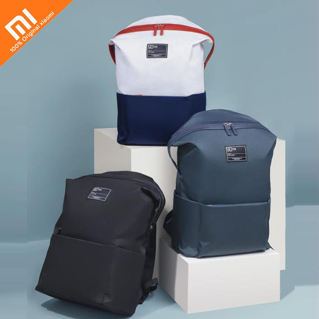 3 colors xiaomi mijai 90 points casual shoulder bag large opening design waterproof light men's shoulder bag large capacity bag