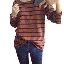 2016 Autumn Fashion Hoody Stripes Hoodies for Women Casual Sweatshirts Navy Black White Striped Sweatshirt High Quality Hoodie