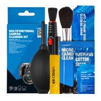 Brand New VSGO Professional Multifunctional Camera Cleaning Kit Lens Cleaning Pen Brush Swab Hurricane Air Blower
