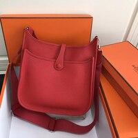 Classic Style Women Men Bag High Quality Togo Leather Crossbody Bag Luxury Brand Shoulder Bags Messenger