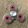 Acrylic Hand Spinner Transparent Fidget Spinner EDC Hand Spinner Spin Plastic Fidget Toys For Children Kids