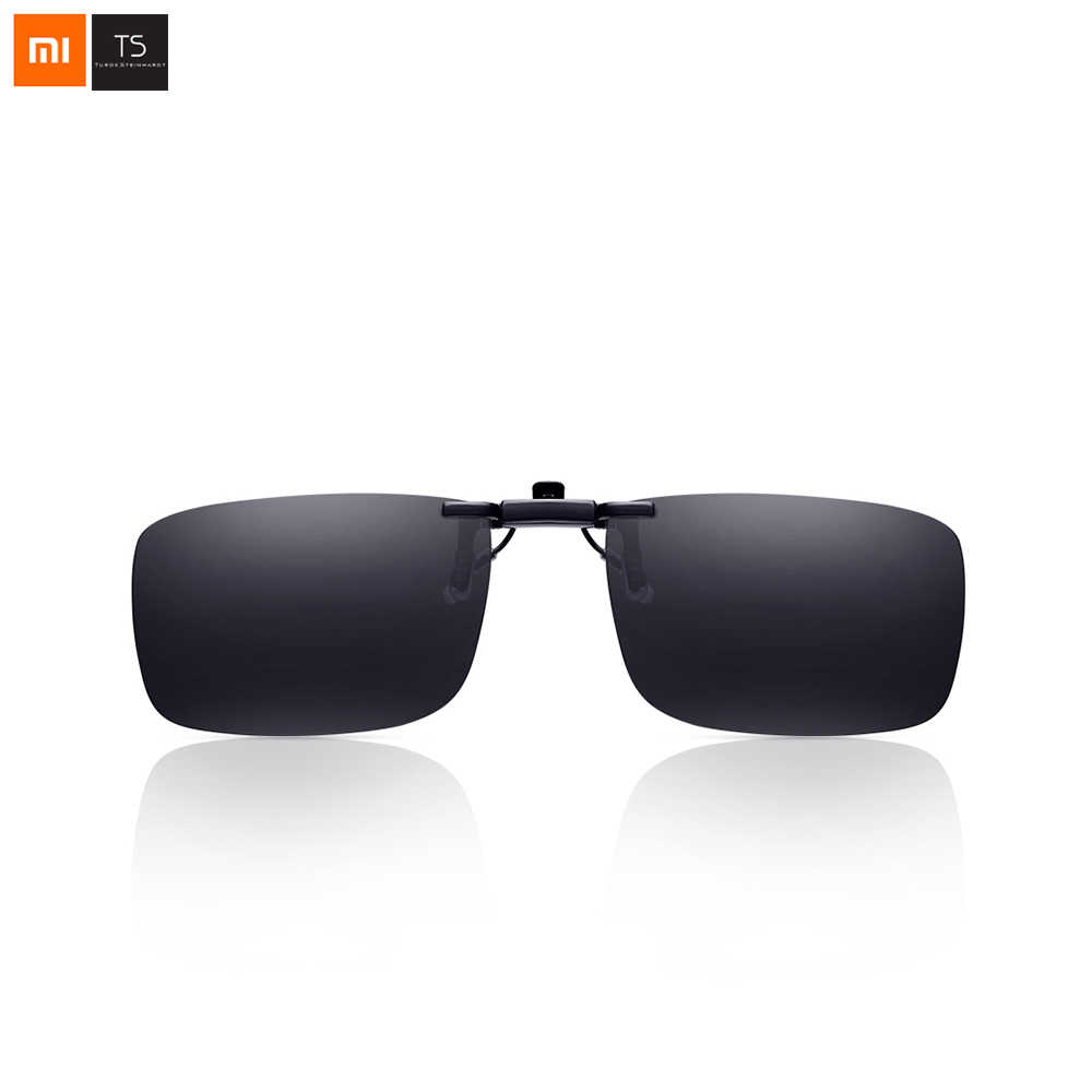 Xiaomi Mijia Turok Steinhardt TS Brand Clip Sunglasses Polarized Clear Sight Glass Anti UVA UVB Outdoor For Travel Smart Home