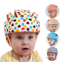 Baby Protective Head Helmet Hats for Kids Prevent Impact Walk Wrestling Sport Toddler Safety Soft Hat Boy Girls Cotton Baby Cap