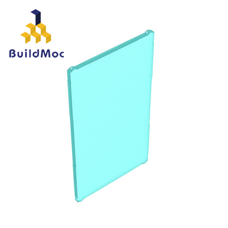 BuildMOC Compatible Assembles Particles 60803-57895 1x4x6 For Building Blocks Parts DIY Story Educational Creative Gift Toys