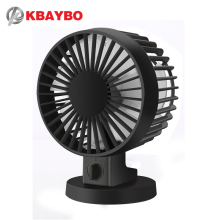 Ultra-quiet Mini USB Desk Fan Office Mini Fan Silent Desktop Fan With Double Side Fan Blades Creative Home K22(China)