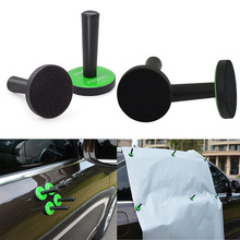 EHDIS 4pcs Car Vinyl Film Wrap Tools Magnet Holders Window Tint Foil Carbon Fiber Magnetic for Styling