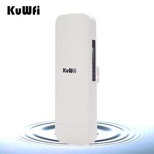 Image 3 - KuWfi 900Mbps sans fil CPE routeur pont sans fil extérieur longue portée 3.5KM WIFI répéteur WIFI Extender système pour caméra IP POE