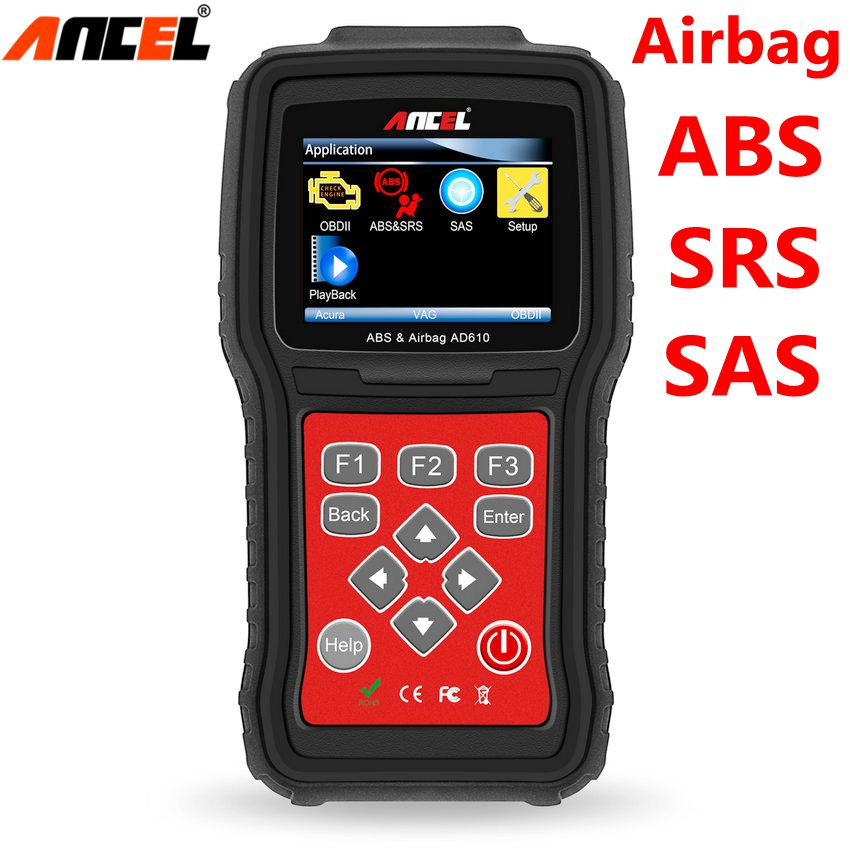 Ancel AD610 Auto Diagnostic Tool OBD2 Automotive Scanner SAS ABS SRS Airbag Crash Data Reset OBD2 Code Scanner Car Diagnostic newest obdmate om520 lcd obd2 eodb car diagnostic scanner obdii interface om520 obd 2 ii auto diagnostic tool scanner