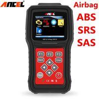 Ancel AD610 Otomatik Teşhis Otomotiv Tarayıcı OBD2 ABS SRS Hava Yastığı çarpışma Veri Sıfırlama OBD 2 Scaner Araba Teşhis Aracı Kodu okuyucu