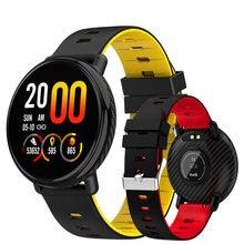 9d337de03c7f1 2019 جديد IP68waterproof ساعة ذكية الرجال Relogio السباحة Smartwatch امرأة  الرياضة الساعات القلب معدل IPS اللمس