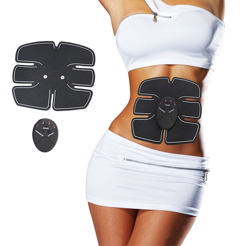 Body Slimming Shaper Machine TENS Electronic Abdominal Fitness Accessories EMS Wireless Electric Muscle Stimulator Massager 1