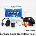 Для Land Rover Range Rover Sport (L320) 2005 ~ 2012/Проводной Или Беспроводной Автостоянка Камера/HD CCD Ночного Видения Камеры Заднего Вида