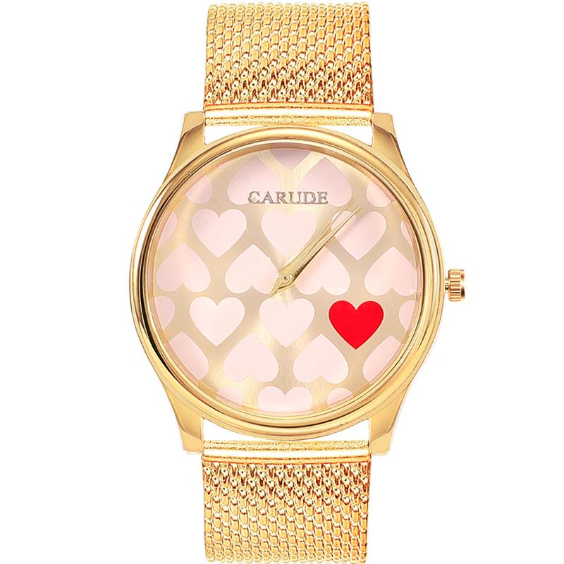 SHAARMS New Fashion Women Watches Street Snap Luxury Female Golden Wrist Jewelry Heart Shaped Clock Ladies WristwatchSHAARMS New Fashion Women Watches Street Snap Luxury Female Golden Wrist Jewelry Heart Shaped Clock Ladies Wristwatch