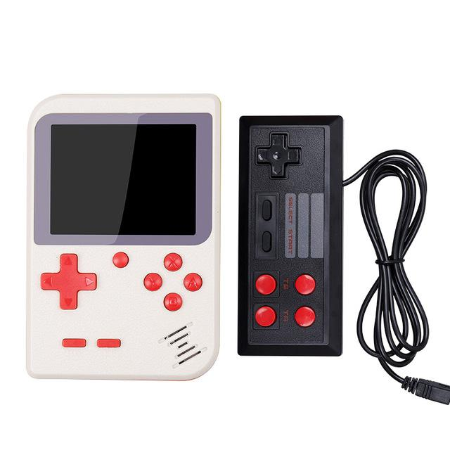 HobbyLane Portable Kids Handheld Game Console 8-Bit 2.8 inch Color LCD Screen Built-in 400 Game Children Player d25