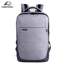 Kingsons Marke Nylon Wasserdicht Laptop Rucksack Männer Frauen Computer Notebook-tasche 15,6 zoll Laptoptasche Schultaschen für Jungen Mädchen