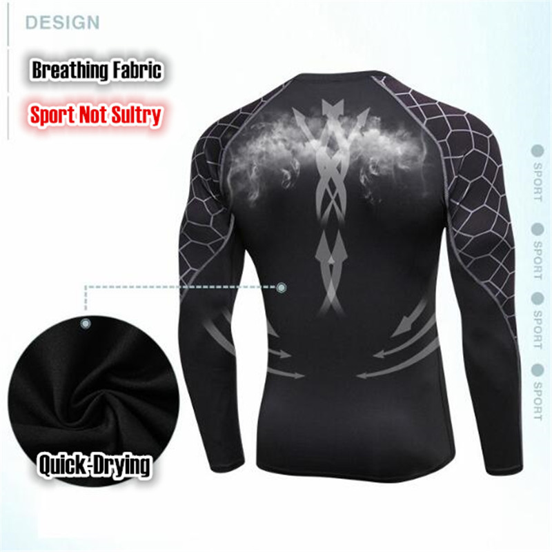 388444ef1 Professional Wicking - Quick Drying Sport Tight Trainnig T-shirt