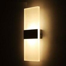 7W AC 86-265V Double-Headed Wall Lamp Outdoor Indoor Waterproof LED Garden Villa Terrace Doors sconce IP65