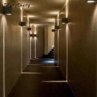 Modern Indoor Lighting Led Wall Lamp Waterproof Outdoor Lighting Wall Lamps Stairs Light Simple Modern Led