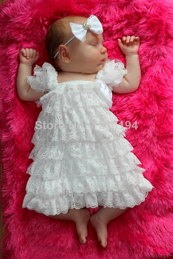 2015 Newborn Baby Girls Dresses For Baby Christening -4579