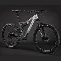 SUNPEED MTB карбоновая рама 29er полный Подвеска углерода гоночный велосипед рама 142*12 мм полностью подвесная рама