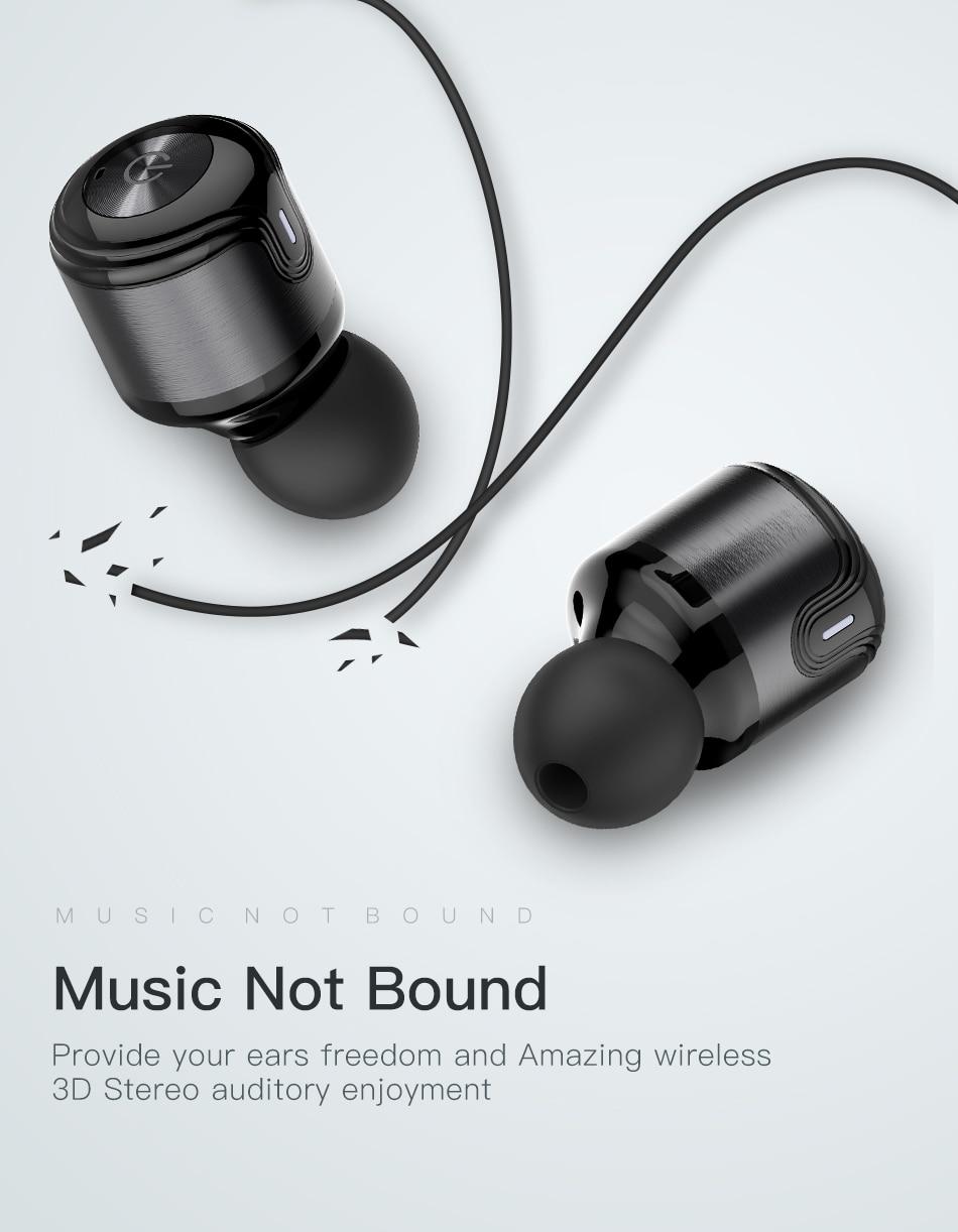 Awei T8 TWS CVC 6.0 True Wireless Sport Eearbuds Headphone With Power Bank Dual Microphone 3D Stereo In-Ear Handfree Earphones (11)