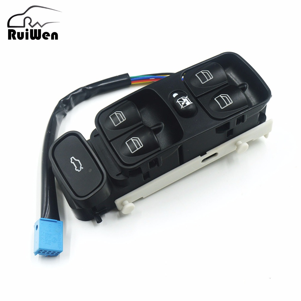 power window switch console front left button for mercedes benz c class w203 c180 c200 c220 c230. Black Bedroom Furniture Sets. Home Design Ideas