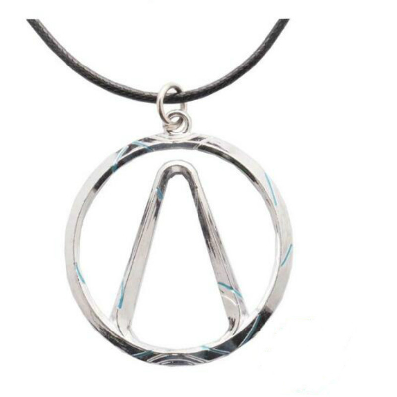 HSIC JEWELRY Trendy Borderlands Game Bijoux Handmade Borderlands Vault Symbol Choker pendant Necklace for Female HC1231 image
