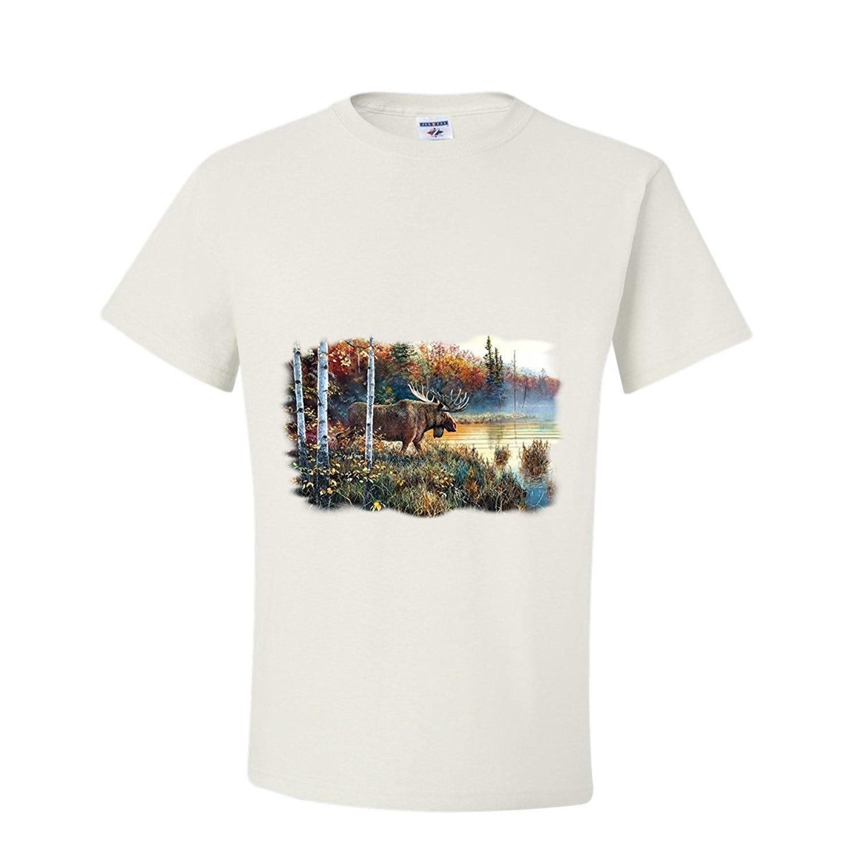 2018 New Summer Cool Tee Shirt Fashion Buck Master Of His Domain T-Shirt Cotton T-shirt