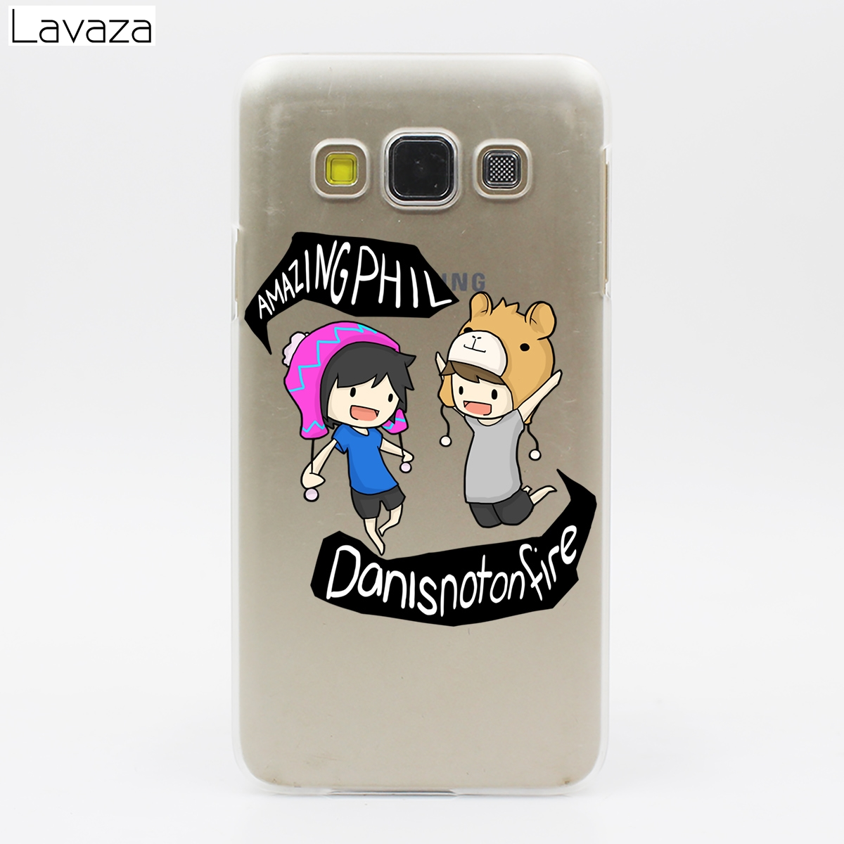 Lavaza Dan And Phil Case For Samsung Galaxy A3 A5 A6 A7 A8 2018 2017 Plus Note 9 8 Grand Prime In Half Wrapped From Cellphones Telecommunications On