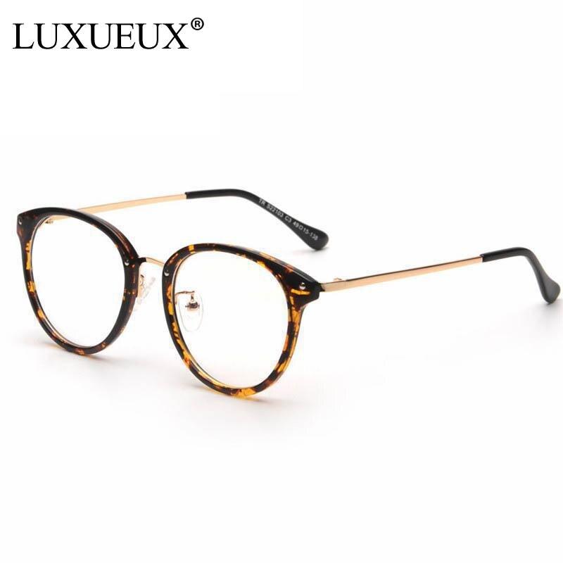 2016 New Latest Trend Korean Style ALL Match Retro Round Eyeglass Frame Ultra-Light Metal Frame Glasses Reading Glasses