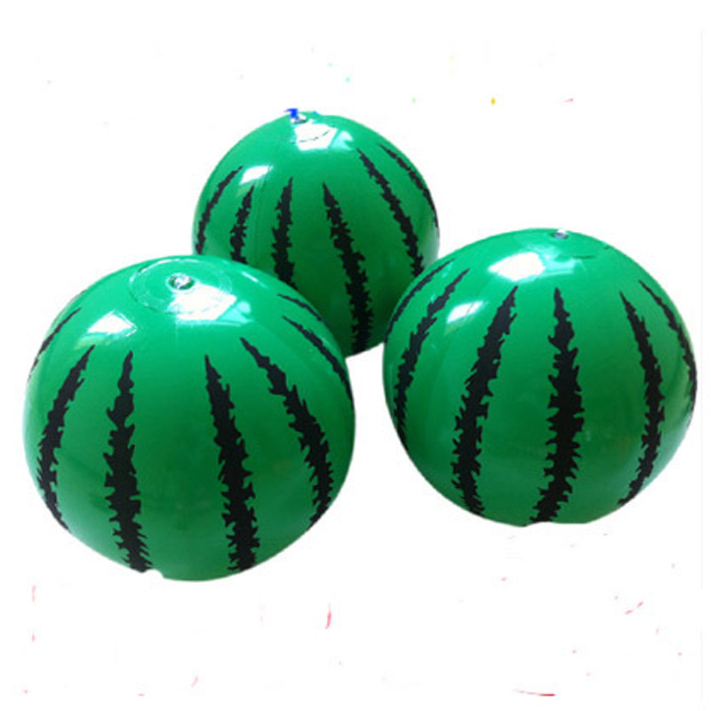 10pcs/lot New Kids Inflatable Ball Toy 21CM Plastic Ball Watermelon Ball PVC Ball Child Baby Gifts Puppe Boneca Muneca Juguetes