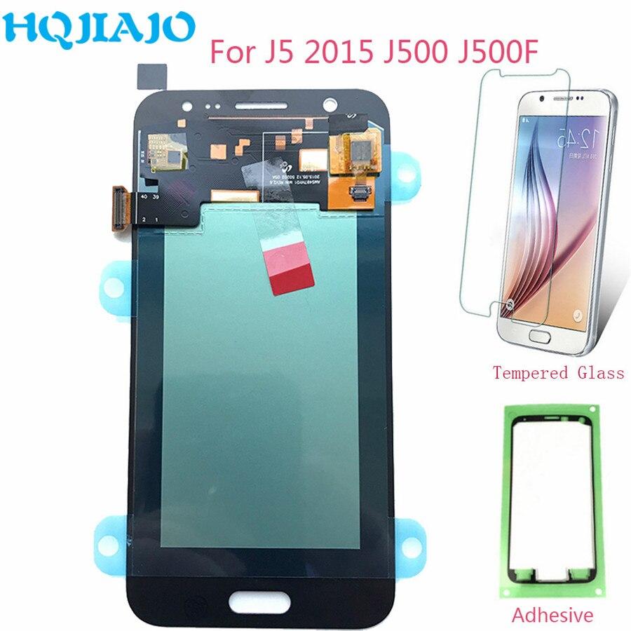 Écran LCD Amoled pour Samsung J500 J5 2015 LCD écran tactile numériseur pour Samsung Galaxy J5 J500F J500H J500M assemblée