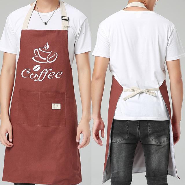 Kitchen Aprons – Coffee: Men