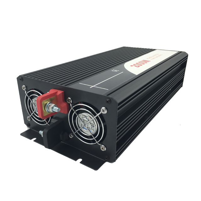 2000W pure sine wave solar power inverter DC AC 110V 4