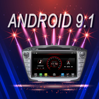 OTOJETA Brand Car Android 9.1 Multimedia Player for HYUNDAI Ix35 TUCSON 09 2013 GPS Navigation Device with Camera Aux bluetooth