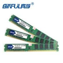 Binful Nueva Marca Original DDR3 4 GB 1333 mhz PC3-8500 10600 12800 1066 mhz 1600 mhz de Memoria RAM de Escritorio 240pin Garantía de Por Vida