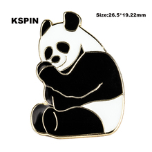 Panda lapel pin badge pin 5pcs a lot pin badge Brooch Icons XY0103