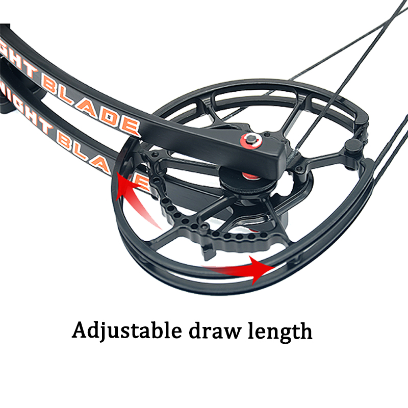 1set 40 60lbs Arrow Steel Ball Dual purpose Compound Bow IBO 310 370FPS 80 Labor Saving Ratio For Hunting Shooting in Darts from Sports Entertainment